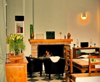 Boutique Hotel Residencia Fundador - Entspannen am Kamin
